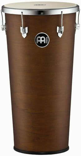 Meinl Percussion - 14 x 28 inch African Brown Finish Timba - TIM1428AB-M